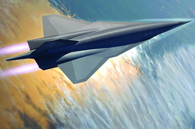 Bu uçak saatte 7.350 kilometre hızla uçacak