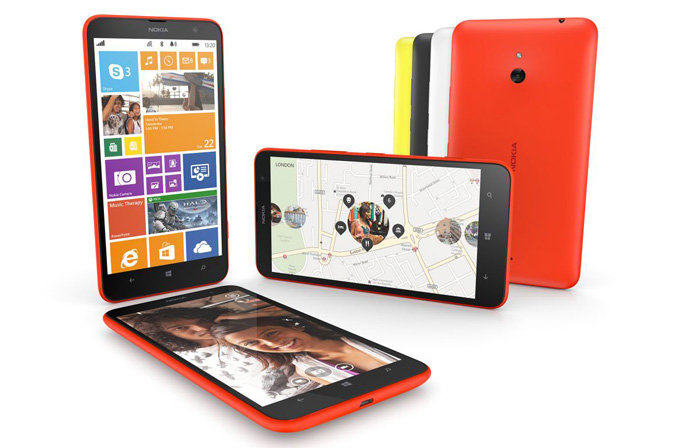 Lumia 1320'nin reklam filmi paylaşıldı