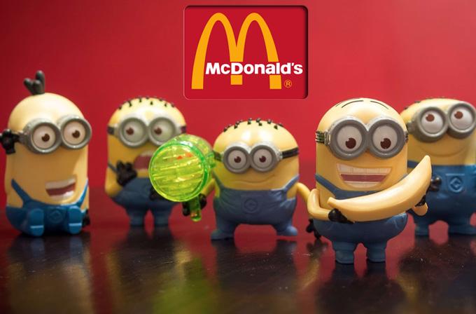 McDonald's oyuncakları 3D yazıcıyla yapılacak