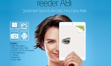reeder'dan Intel İşlemcili Tablet!