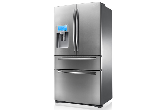 Samsung'un yeni dört kapılı buzdolabı Türkiye'de satışa çıktı