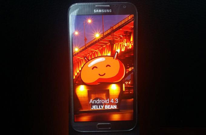 Samsung Galaxy Note 2 için Android 4.3 güncellemesi geliyor