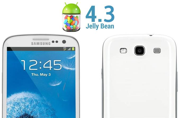 Galaxy S3 kullanıcılarına Android 4.3 müjdesi!