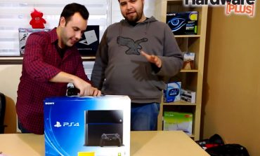 PS4 unboxing (kutu açma) videosu