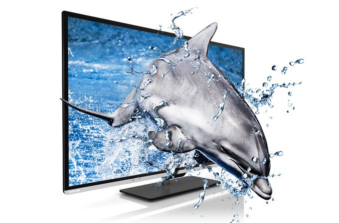 Büyük ekranlı ve uygun fiyatlı 3D Full HD TV arayanlara: Toshiba L5 Serisi