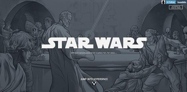 Star Wars resmi Tumblr hesabı açtı