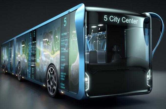 Gelecekten otobüs konsepti