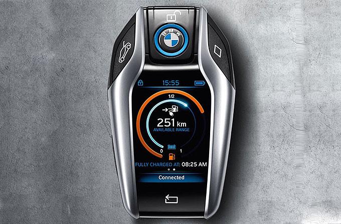 BMW i8 için düşünülen bu araba anahtarı harika gözüküyor