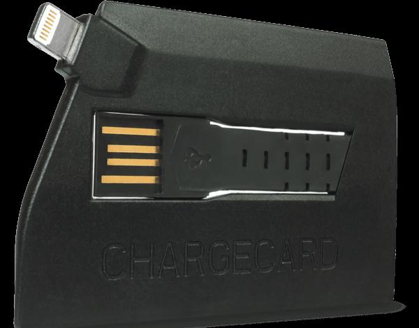 Kredi kartı boyutunda Lightning kablosu
