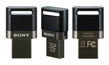 Sony'den ikisi bir arada USB bellek