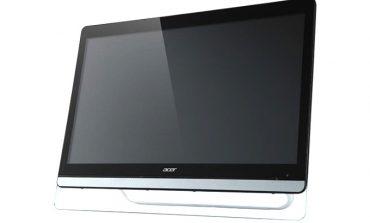 Acer'ın yeni monitörü dokunuşla da kullanılabiliyor