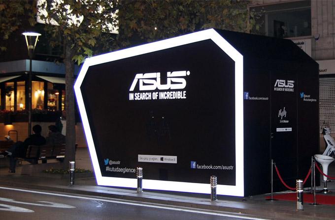 Eğlenceyi seven, 2014'e ASUS Disco Box'ta girer!