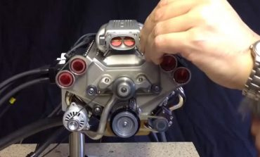 Dünyanın en küçük V8 motoru