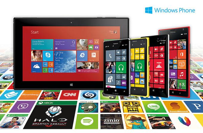 Windows Phone mağazası 200.000'i gördü