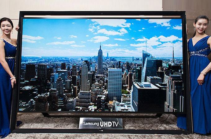 110 inç'lik dünyanın en büyük Ultra HD TV'si satışa çıkıyor