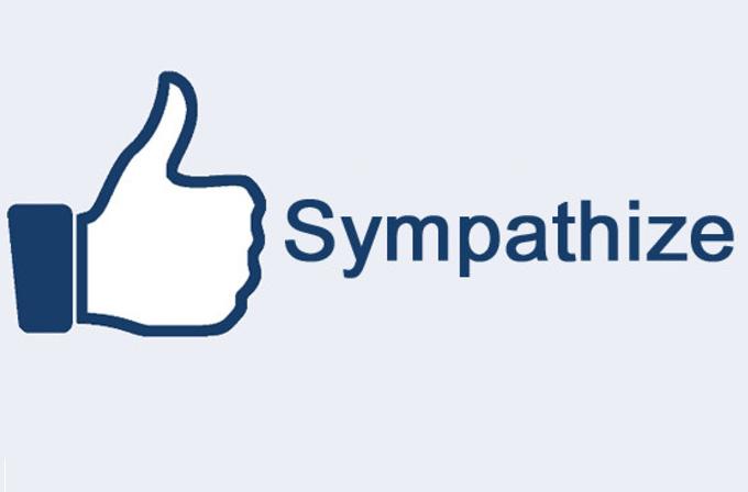 Facebook 'Sempati' tuşu üzerinde çalışıyor