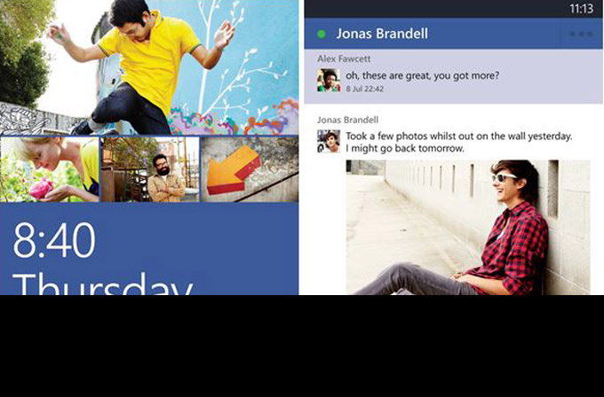 Facebook'un Windows Phone 8 uygulaması yenilendi