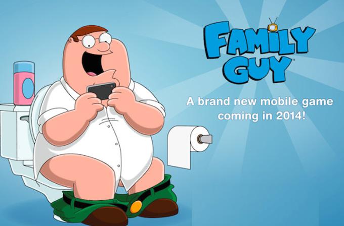 Family Guy'ın mobil oyunu geliyor
