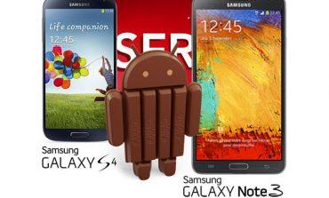 Galaxy S4 ve Note 3'e Android 4.4 ne zaman gelecek?