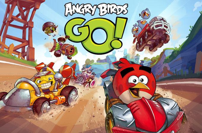 Angry Birds GO sunuldu