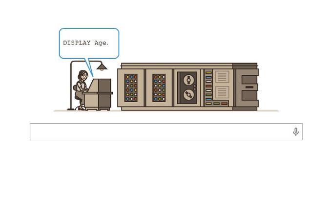 Google bugün Grace Hopper'ı anıyor