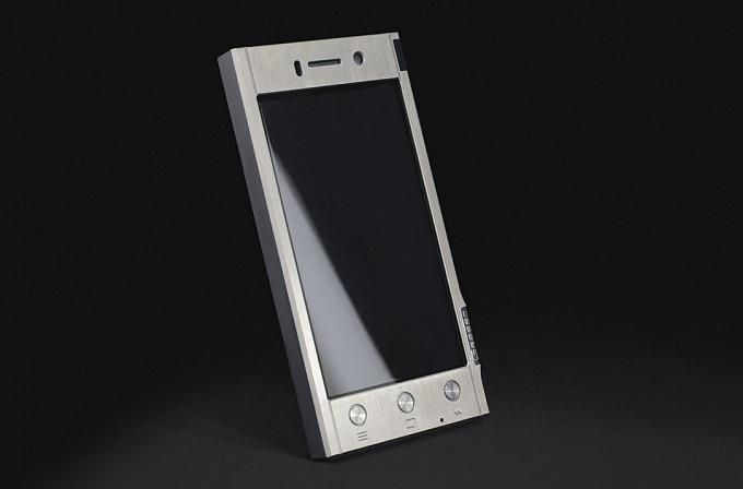 Gresso'dan titanyum kasalı akıllı telefon: Radical R1