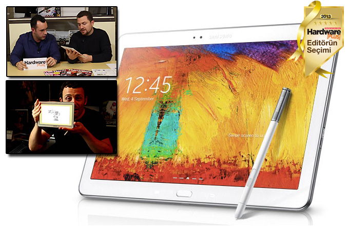 Video inceleme: Samsung Galaxy Note 10.1 2014 Edition