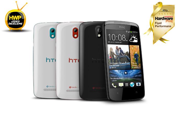 HTC Desire 500 video inceleme