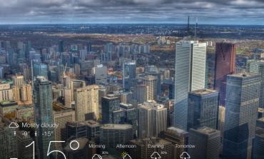 Yahoo Weather iPad'e geldi