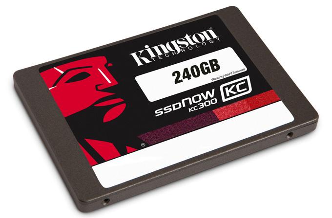 Kingston yeni SSD'si KC300'ü tanıttı