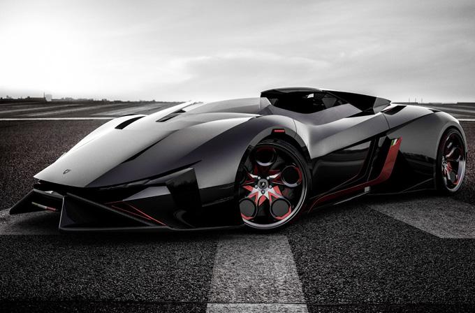 Lamborghini Diamante konsepti nefes kesiyor