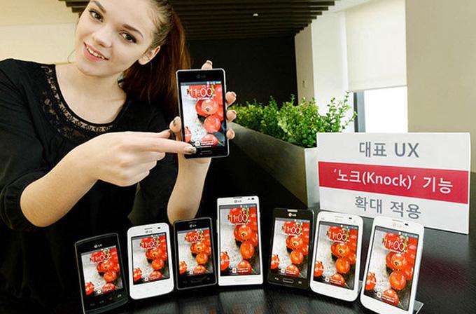 LG L II serisi akıllı telefonlara Knock On geliyor