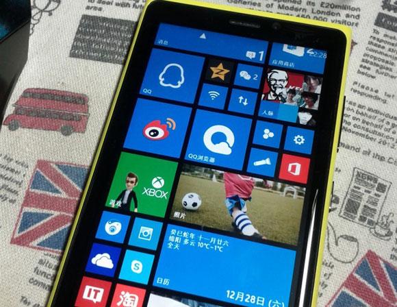 Alev alan Lumia 920 çalışmaya devam etti!
