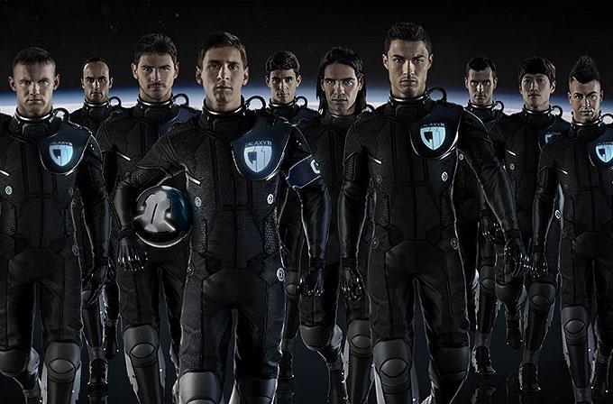 Samsung'un yeni reklamında yok yok! Messi, Ronaldo, Rooney ve daha fazlası!
