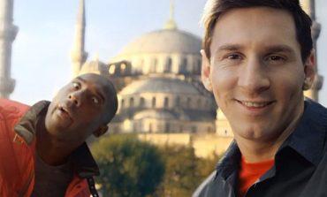 THY'nin yeni reklamında yine Kobe ve Messi var