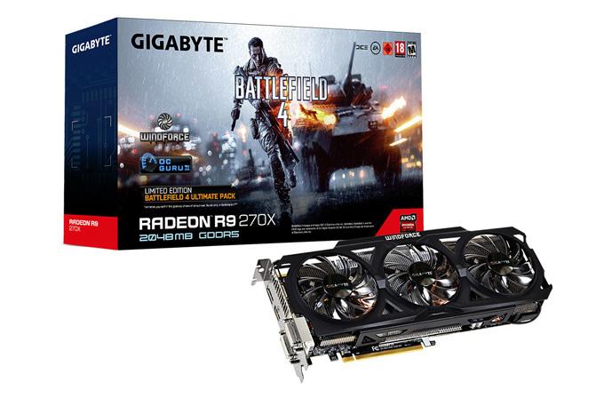 Gigabyte'ın yeni Radeon R9'ları Battlefield 4 ile geliyor