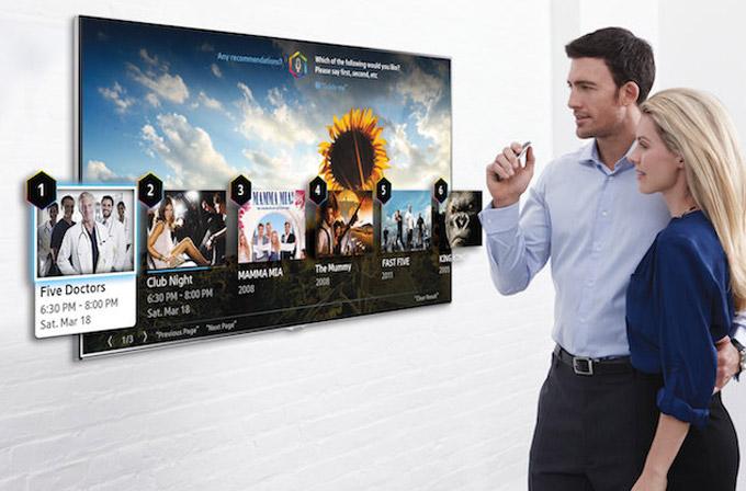 Yeni Samsung Smart TV'ler parmağınızı bile takip edebilecek