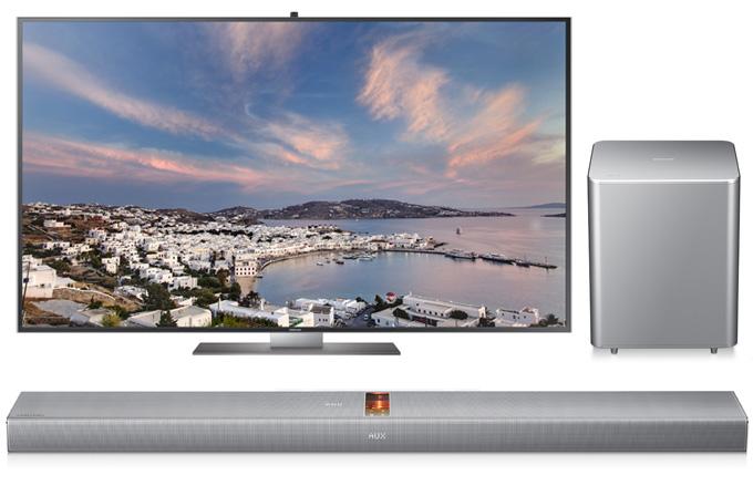 Yılbaşı eğlencesi için ihtiyacınız: Samsung SoundBar ve F9000 UHD TV