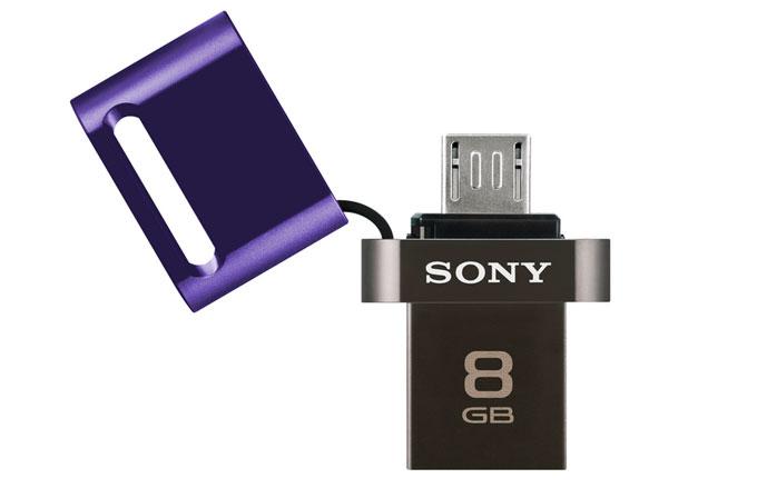 Sony'den tablet ve akıllı telefonlar için USB bellek