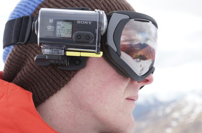 Adrenalin tutkunları için kamera: Sony Action Cam