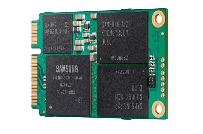 Samsung'tan bir ilk: 1 TB kapasiteli mSATA SSD