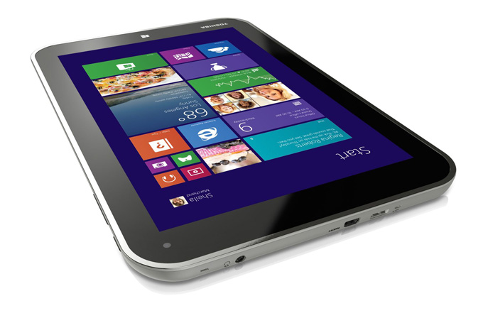 Toshiba'dan 8 inç ekranlı Windows 8.1 tablet