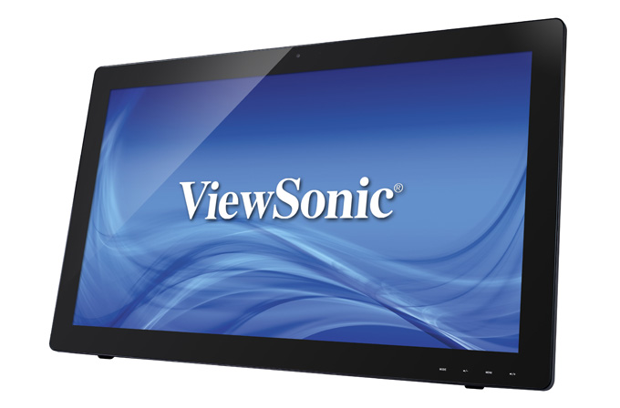 10 parmak dokunmatik VA panel monitör: ViewSonic TD2740