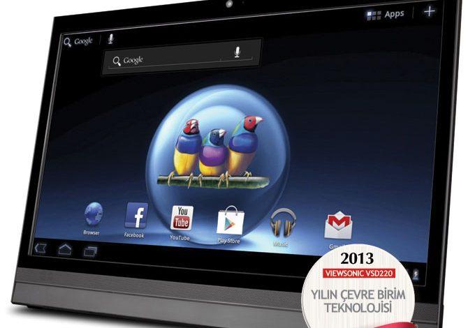 2013'ün en iyi çevre birim teknolojisi: ViewSonic VSD220
