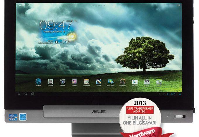 2013'ün en iyi AIO bilgisayarı: ASUS TRANSFORMER  AIO P1801