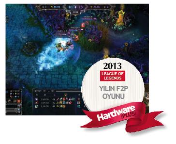 Hardwareplus 2013 un F2P oyunu League of legends