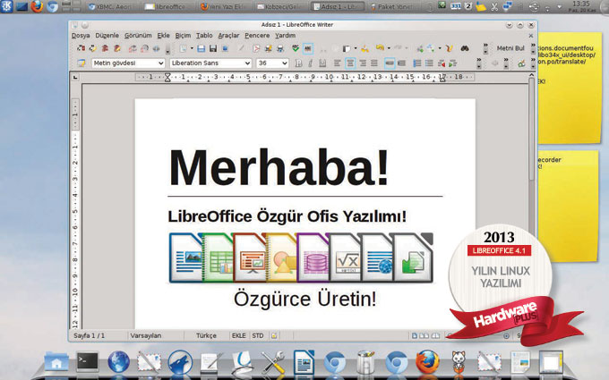 2013'ün en iyi Linux yazılımı: LibreOffice 4.1