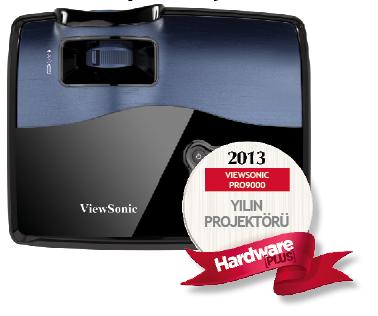 Hardwareplus 2013 un Projektörü Viewsonic pro9000