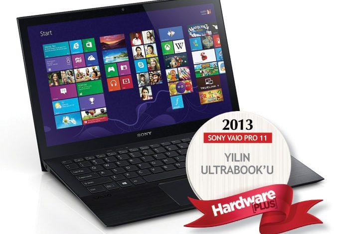 2013'ün en iyi taşınabilir bilgisayarı: SONY VAIO PRO 11