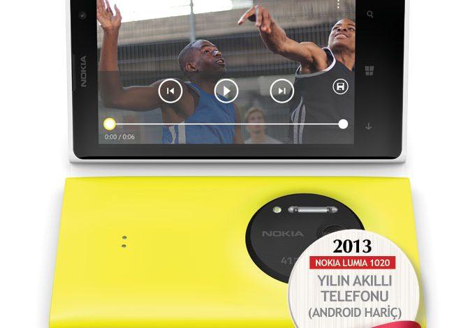 2013'ün en iyi akıllı telefonu (Android hariç) : Nokia Lumia 1020